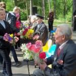 У Ворзелі відзначили сімдесятиріччя перемоги над нацизмом