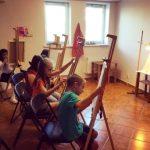 """""""Irpin Art School"""" відкрила першу виставку в Ірпені"""