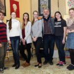 Мистецьке майбутнє з школи № 1 шле вітання Малевичу