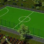 В ірпінських школах будують спортмайданчики