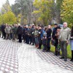 На Алеї героїв в Ірпені відкрили меморіальну дошку захиснику України Ігорю Халазію
