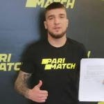 """Ірпінець Ярослав Амосов став частиною команди """"Pariмatch"""""""