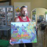 Під час відкриття набережної у Вишневому відбувся художній пленер
